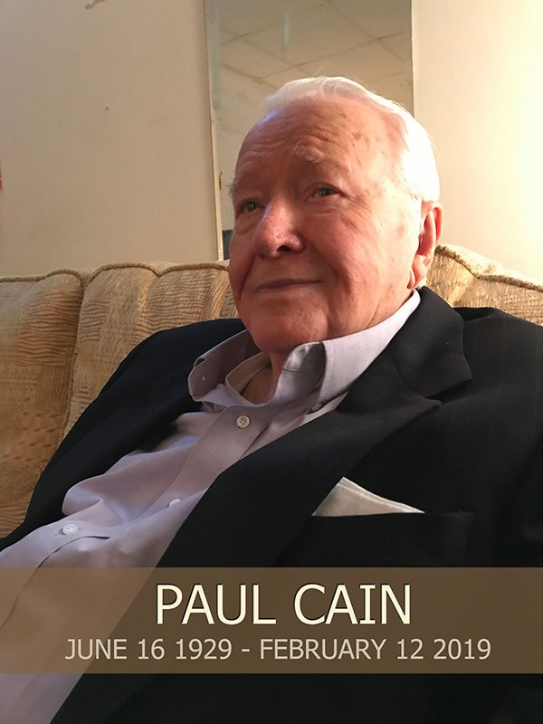 Paul Cain Obituary 2019